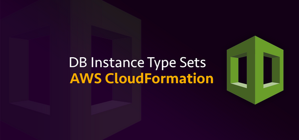 AWS CloudFormation DB Instance Type Snippets